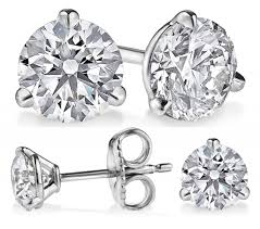 martini huge diamonds huge ct certified radiant diamond stud earrings