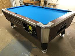 Valley Bar Table Table 080417 Valley Coin Operated Pool Table Used Coin Operated