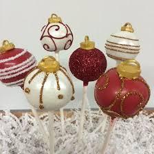 ornaments cake pops cake pops