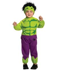 toddlers marvel comics avengers fleece the hulk costume size 2t 4t