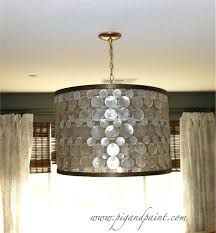 Mini Lamp Shades For Chandeliers How To Make Mini Lamp Shades For Chandeliers How To Make A Capiz