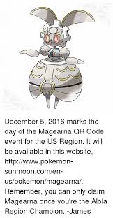 Qr Memes - 25 best memes about pokemon magearna pokemon magearna memes