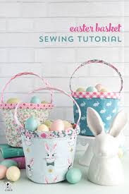 basket easter easter basket sewing pattern the polka dot chair