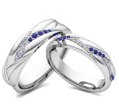 blue wedding rings blue sapphire and wedding ring models with 14k