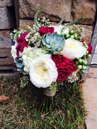 wedding flowers m s cranberry bouquet succulent and garden bouquet succulent