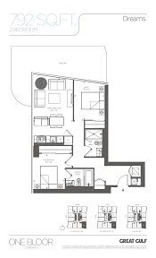Sony Centre Floor Plan One Bloor Condos 1 Bloor Condo Floor Plans Toronto Condos