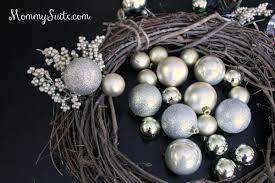 diy grapevine ornament wreath suite