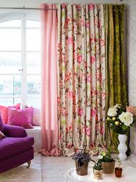 Modern Floral Curtain Panels Home Decorating Ideas Home Improvement Cleaning U0026 Organization