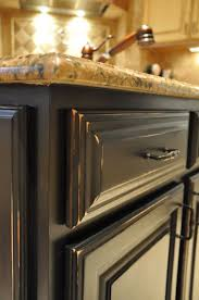 Distressed Black Kitchen Island How To Paint A Kitchen Island Part 1 Evolution Of Style