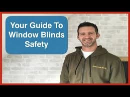 Safety Blind Cord Lock Away Child Safe Blinds Cord Safety Window Blinds Safety Youtube