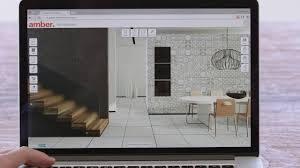 amber tiles visualiser living room youtube