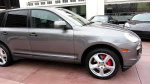 Porsche Cayenne With Rims - 2008 porsche cayenne turbo meteor grey black full leather