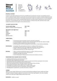 Samples Of Medical Assistant Resume by Download Medical Resumes Haadyaooverbayresort Com