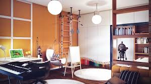 teenagers room with gym interior design ideas