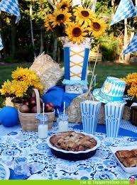 Backyard Picnic Games - oktoberfest theme picnic