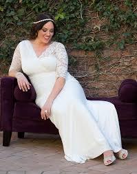 wedding dresses for plus size women kiyonna women s plus size aisle wedding gown at