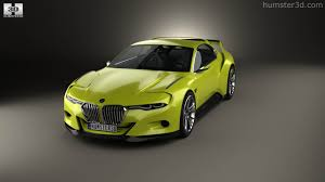 bmw concept csl 360 view of bmw 3 0 csl hommage 2015 3d model hum3d store
