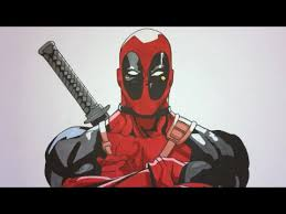 how to draw deadpool step by step marvel youtube