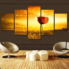 Gray And Yellow Home Decor Wall Ideas Yellow Flower Wall Art Yellow And Gray Flower Wall