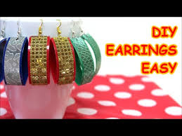 plastic bottle earrings diy earrings jewelry ideas easy made from plastic bottle and