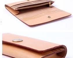 long wallet template etsy