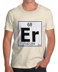 er element periodic table slash prices on men s t shirt periodic table element er erbium funny