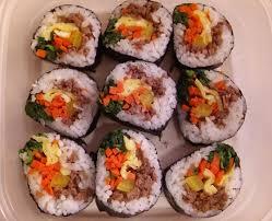 sriracha mayo sushi gimbap recipe maangchi com