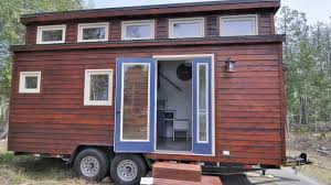 this is a shelter wise ciderbox design tiny home built by wee