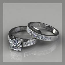build engagement ring wedding ring engagement ring and wedding band different color