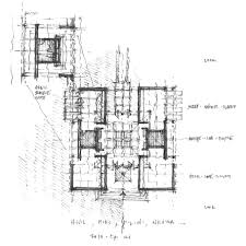 100 ennis house floor plan frank lloyd wright floor plans