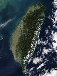 Map Of Taiwan Of Taiwan