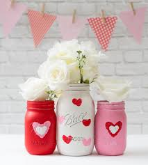 valentine day mason jar craft mason jar crafts love