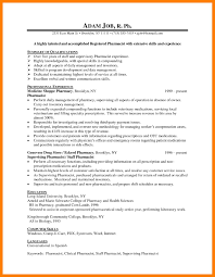 9 pharmacist cv example mla cover page