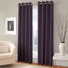 Bed Bath And Beyond Thermal Curtains Majestic Blackout Lined Grommet Window Curtain Panel Bed Bath