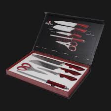 Kitchen Knife Collection Bh 2012 5 Pcs Knife Set Azure Collection U2013 Berlinger Haus
