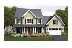 Colonial Floor Plans Open Floor Plan Colonial Hwbdo75952 Colonial From