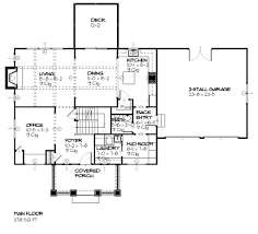 traditional style house plan 3 beds 2 50 baths 2294 sq ft plan