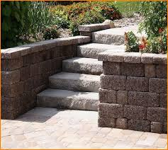 Patio Retaining Wall Ideas Paver Patio Designs Retaining Wall Home Design Ideas