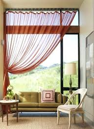 Burnt Orange Sheer Curtains Burnt Orange Sheer Curtains Teawing Co