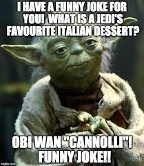 Funny Italian Memes - star wars yoda meme imgflip
