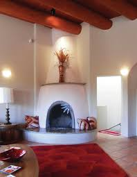 inside adobe walls santa fe style with a touch of the european