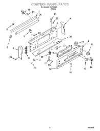 Whirlpool Ceran Cooktop Parts For Whirlpool Gjp84802 Range Appliancepartspros Com