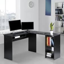 Desk L Modern Langria Modern L Shaped Computer Desk Corner Pc Latop Study Table