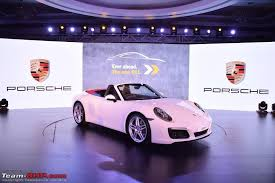 porsche 911 launch 2016 porsche 911 range to launch in india on june 29 edit now