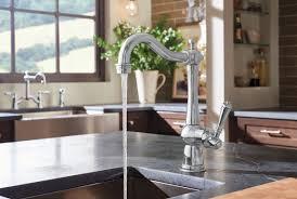 brizo tresa kitchen faucet two handle bridge kitchen faucet with spray 62536lf pc tresa