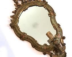 rococo mirror etsy