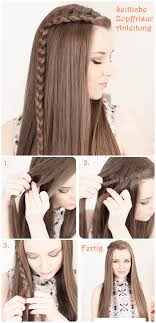 Frisuren Pferdezopf Anleitung by Side Braid Flechtfrisuren Hair Tutorial Frisuren