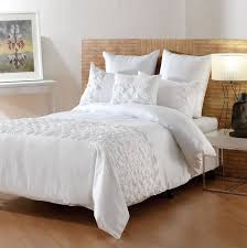 Ruched Bedding Ruched Duvet Cover White Home Design Ideas
