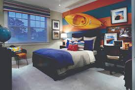 Young Male Bedroom Ideas A Canoe On A Wall Why Not What An Interesting Idea For An