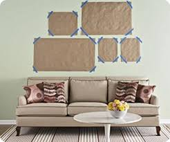 What Height To Hang A Picture Easy Way To Hang Pictures Take Scrap Paper The Size Of Your